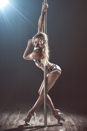 Pole Dancing at Divas & Dolls Fitness