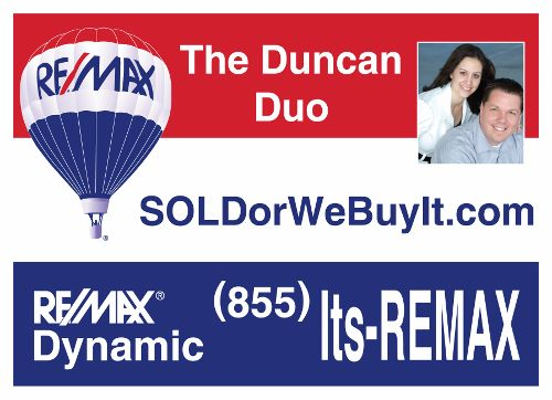 Duncan Duo-of RE/MAX Dynamic are now Official Realtors for Tampa Bay Lightning