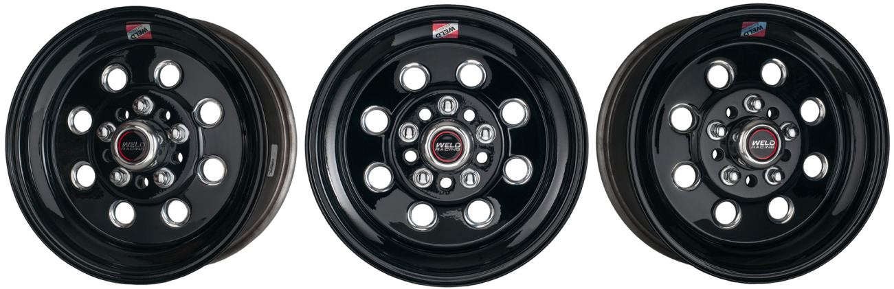 WELD Street & Strip Black Draglite wheel