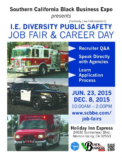 IE Diversity Public Safety Job Fair & Career Day