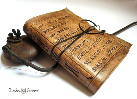 A Codex leather bound book