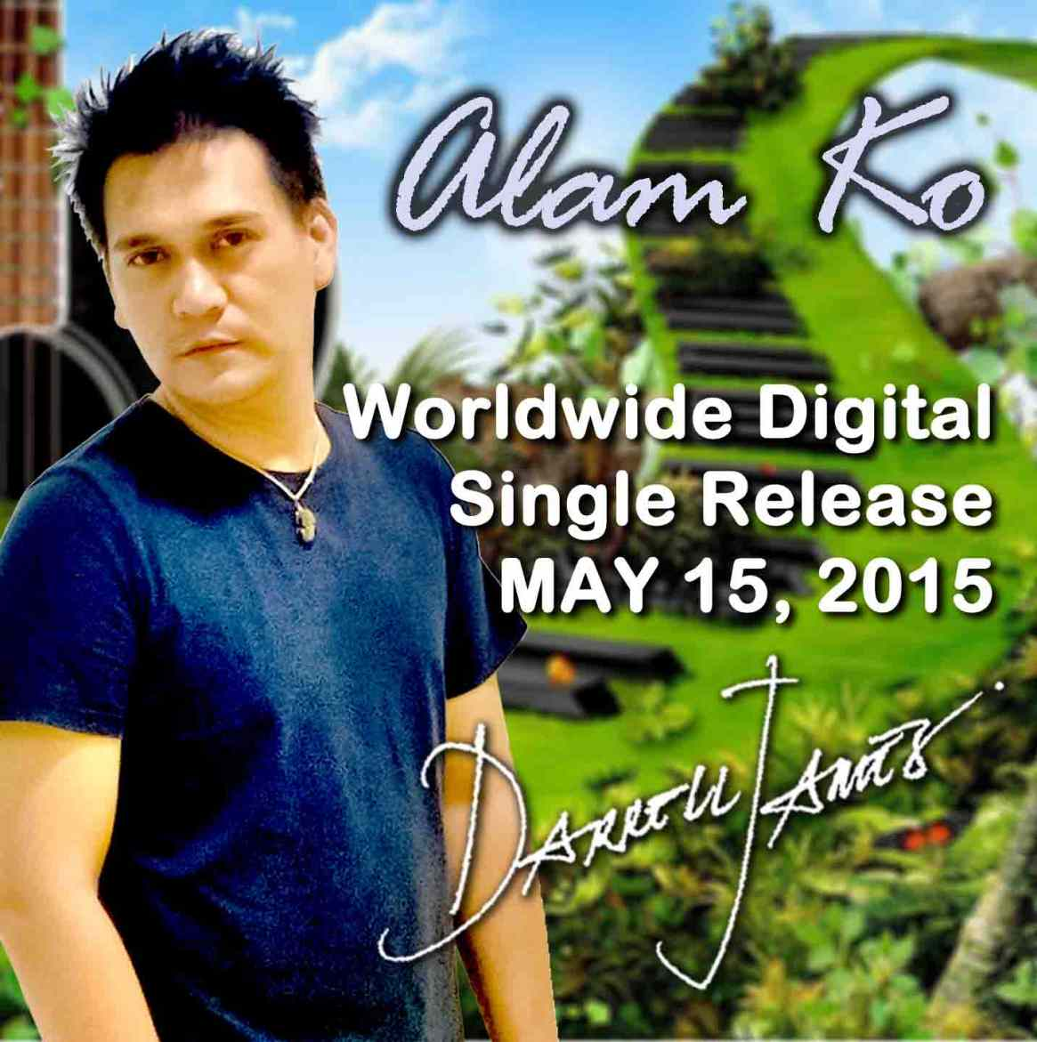 Darrell James' ALAM KO Single Out On May 15, 2015