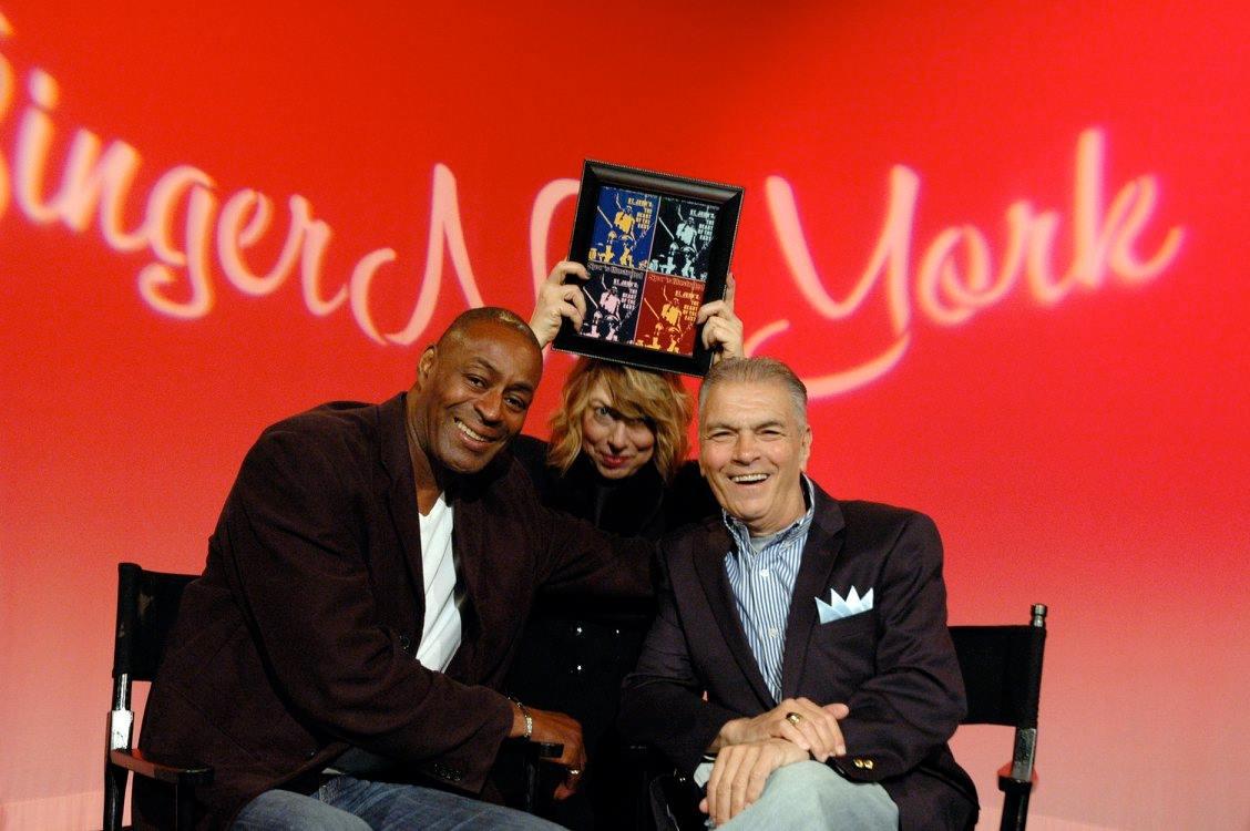 Billy Goodwin, Host Ginger Broderick, Sammy Albano - GingerNewYork TV Show