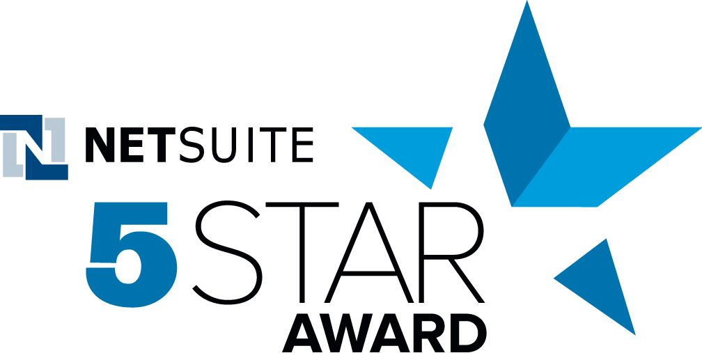 NetSuite's 5 Star Award awarded to Ncompass