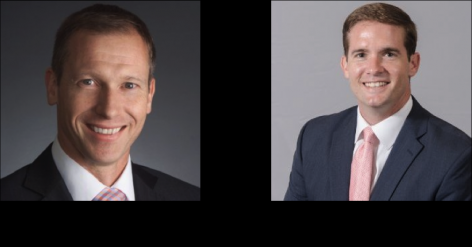 Presidents 2015 Left: Coen Vrolijk, Right: Chris Hopkins