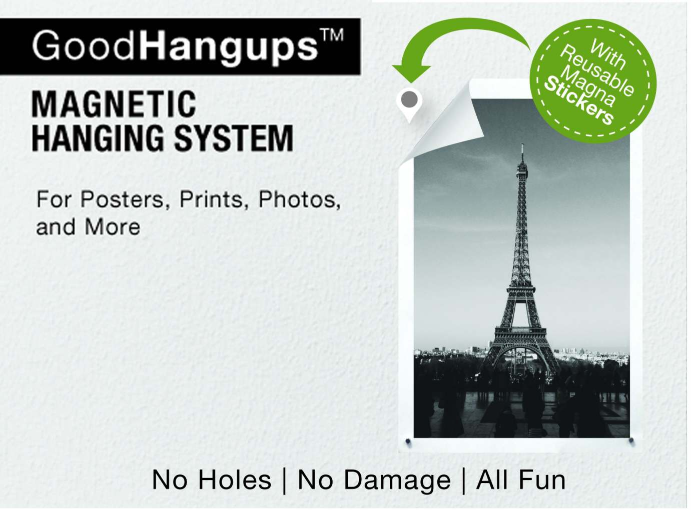 Goodhangups An All New Way To Hang Posters Prints