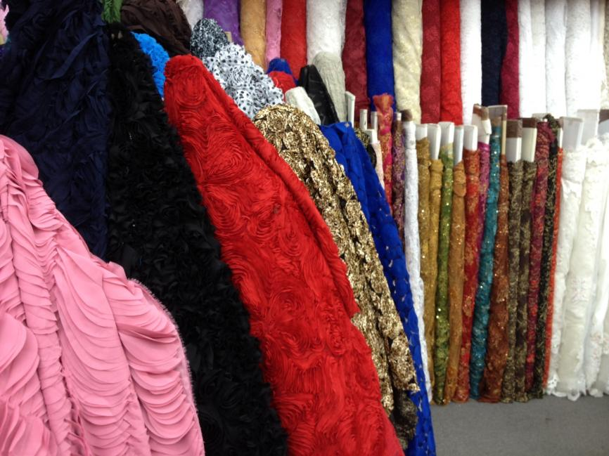 Visit Garment District fabric stores during a Seek NYC tour.