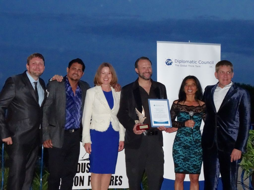 Blue Horizon Charitable Foundation & Diplomatic Council event in Cannes