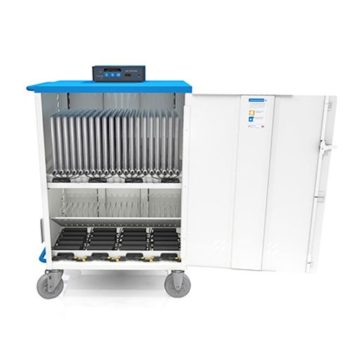 Ultra-Light Chromebook Cart With Intelligent Charging