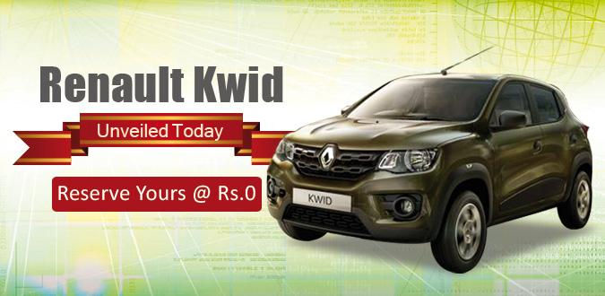 Renault Kwid Website Banner