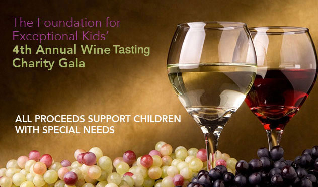 Wine tasting at children's museum benefits children with special needs.