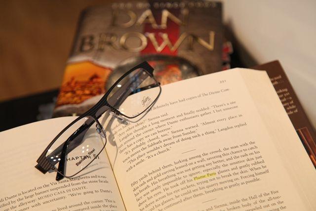 Inferno Dan Brown Plume Paris eyeglasses