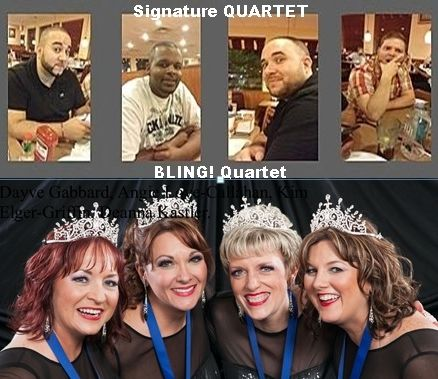 Signature Quartet and Bling!