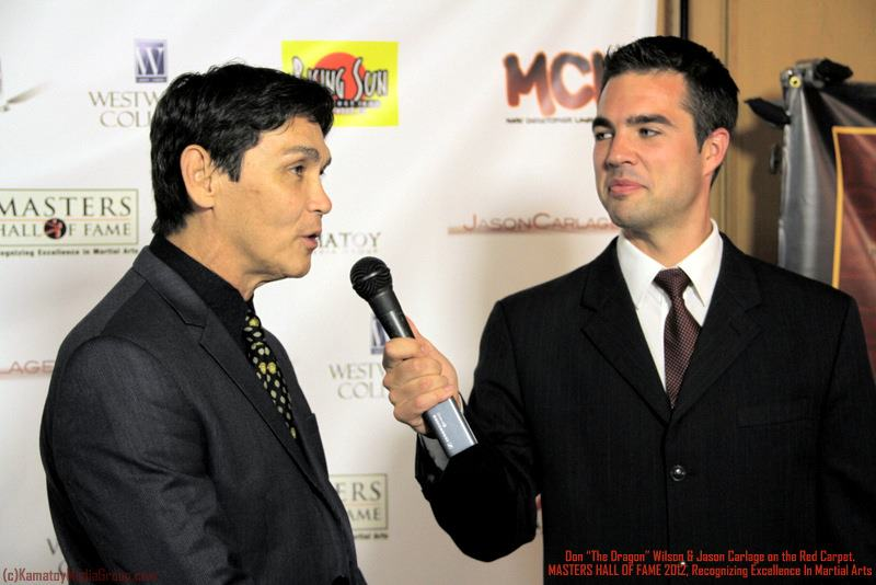 On the Red Carpet with Don THE DRAGON Wilson