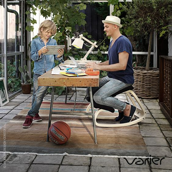 Variable Balans Chair Designed By Peter Opsvik For Varier