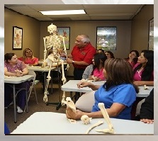 Massage Therapy college class subjects