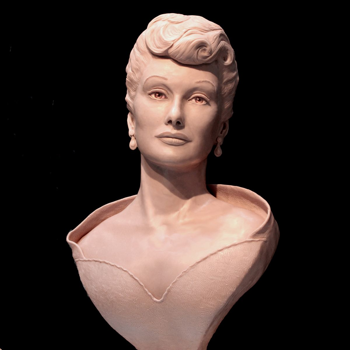 Lucille Ball Portrait Bust