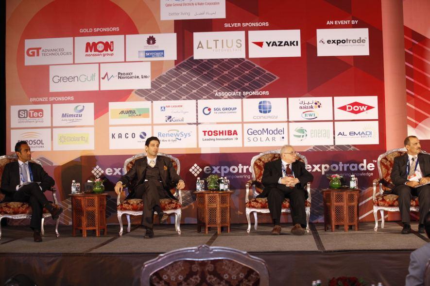 Panel Discussion in progress at Solar Qatar 2014