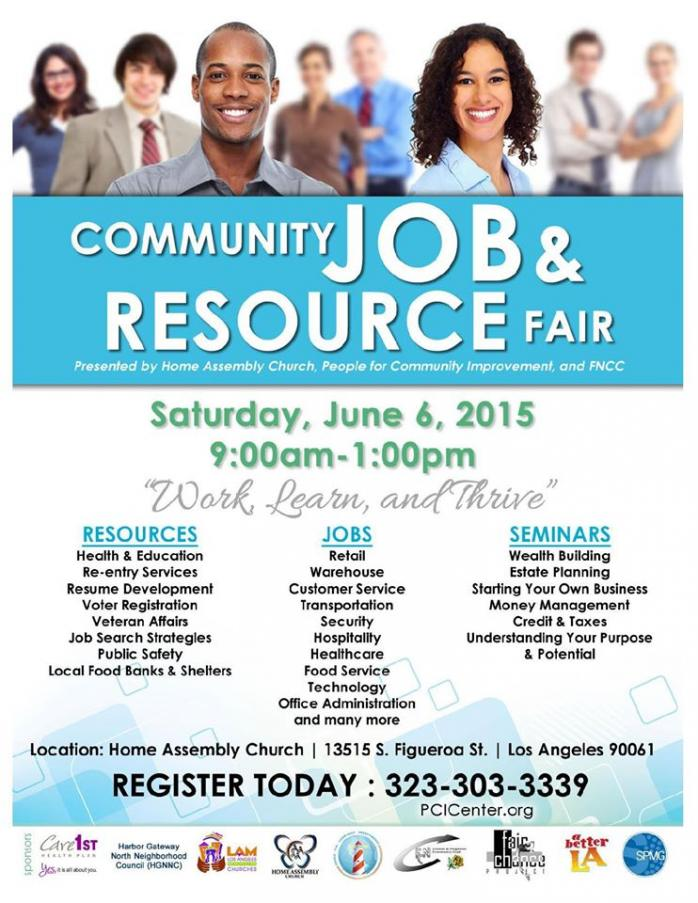 Community Job & Resource Fair