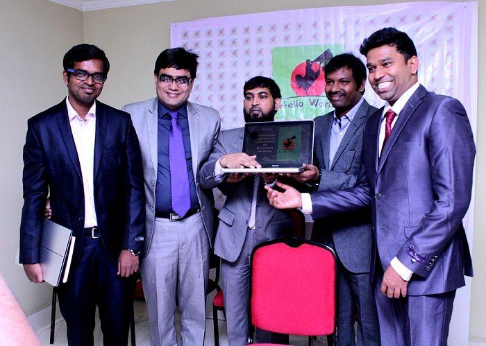 Okapia and Ralecon IT Consulting Services Launch 'Hello World' VAS App