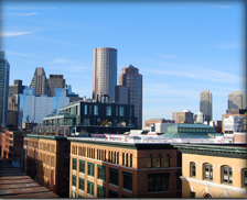 Rooftop view from 381 Congress