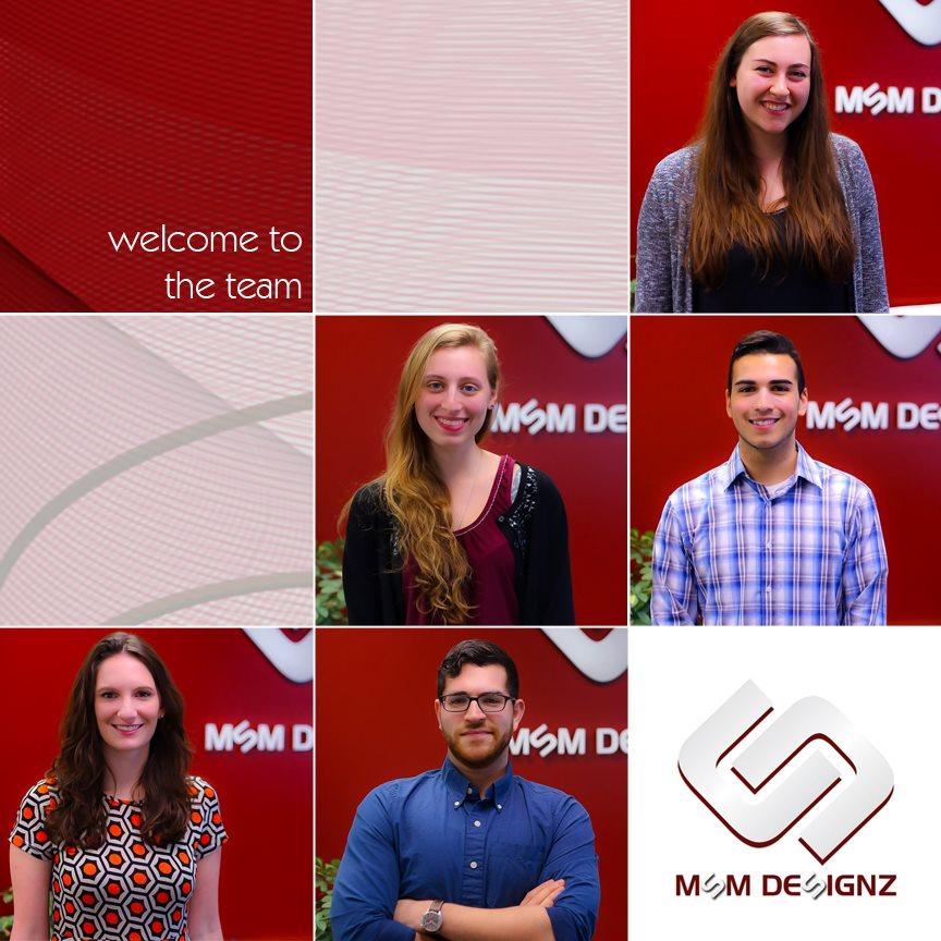 MSM DesignZ New Hires