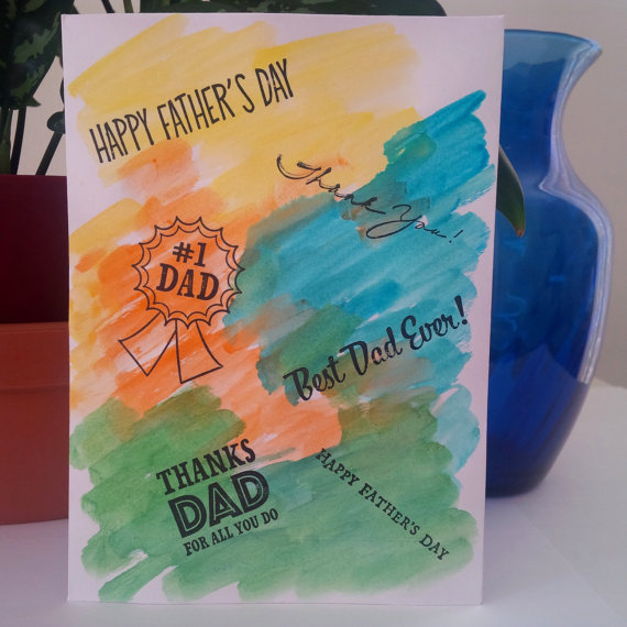 handmade father's day cards  on sale now at card