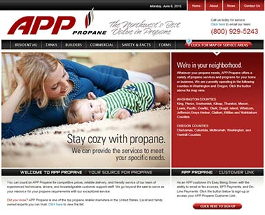 APP Propane Home Page
