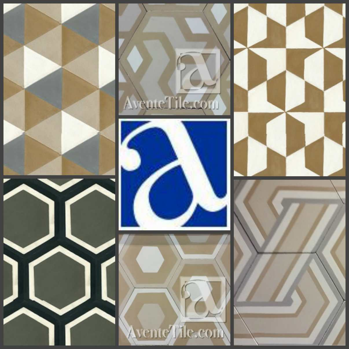 Avente tile unveils customizable hexagonal cement tile collection mission hexagonal cement tile avente tile ppazfo