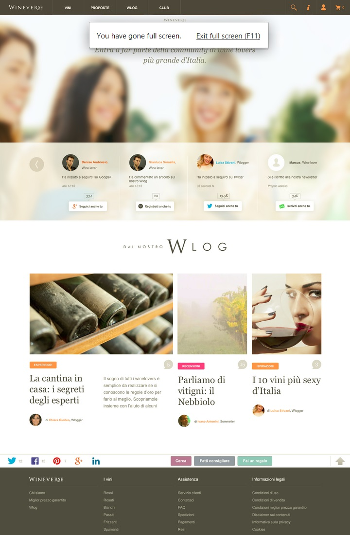Wineverse Home Page