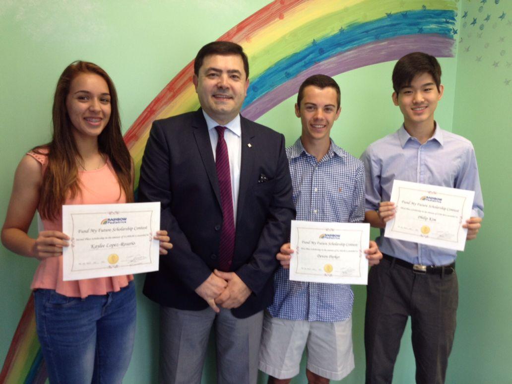 Rainbow Pediatrics Fund My Future Contest Winners
