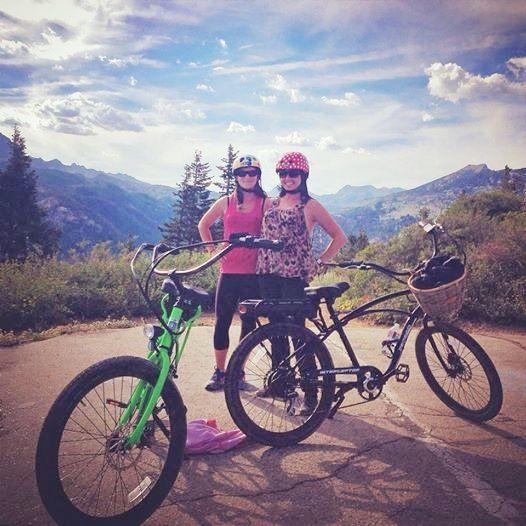 Pedego riders love the scenic views around Mammoth Lakes.