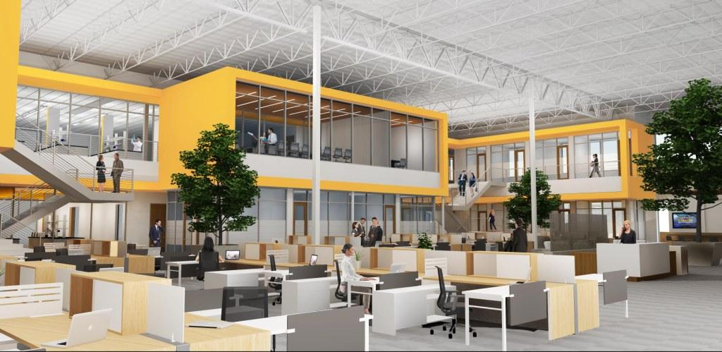 Design and rendering of OncoSec Medical, Inc. courtesy McFarlane Architects