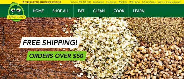 New Hippie Butter Website