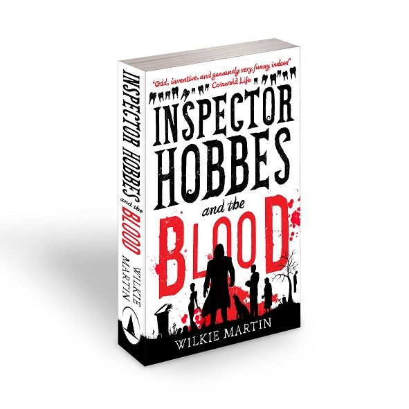 #1 Best Seller Comedy Book - Inspector Hobbes and the Blood by Wilkie Martin