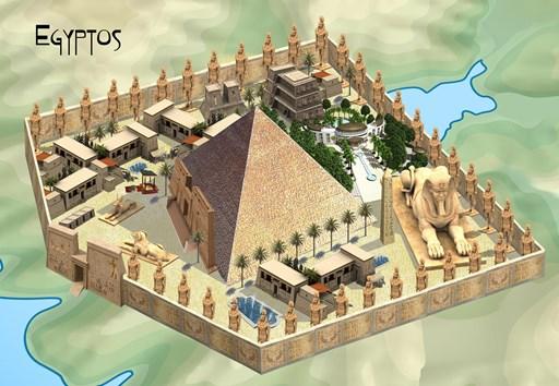 The Grand Pyramid of Egyptos