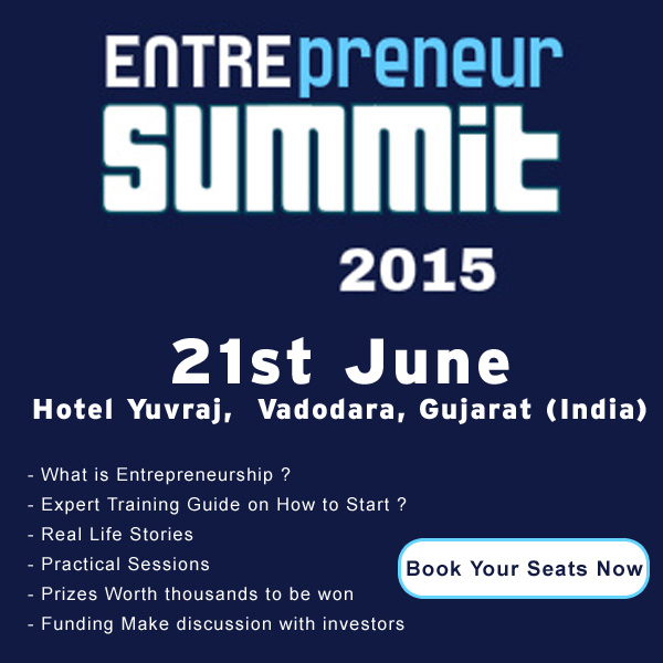 Entrepreneur‬ Summit 2015 at Vadodara, Gujarat