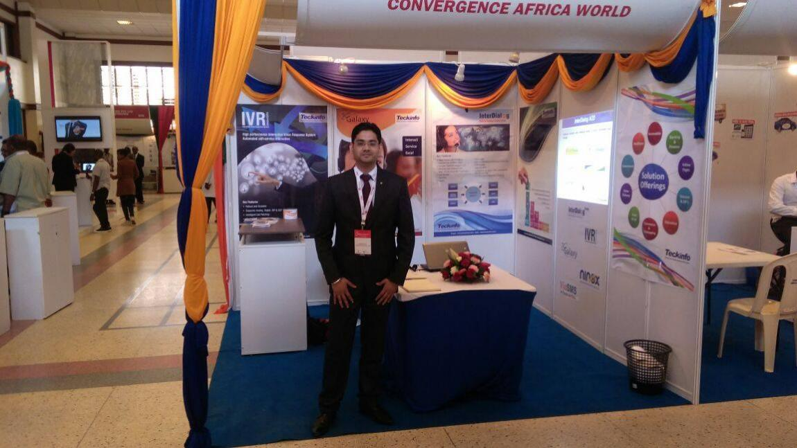 Teckinfo Stall at #Convergence Africa 2015