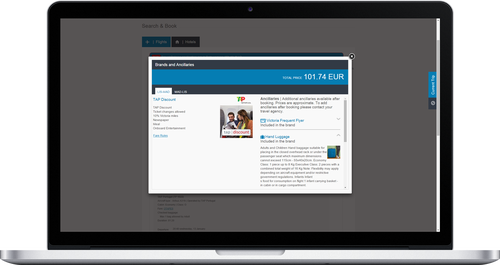 TTS Corporate with Travelport Rich Content and Branding