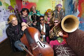 Revolutionary Snake Ensemble; photo credit Jean Hangarter