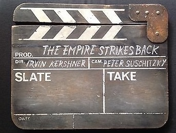 STAR WARS THE EMPIRE STRIKES BACK CLAPPERBOARD