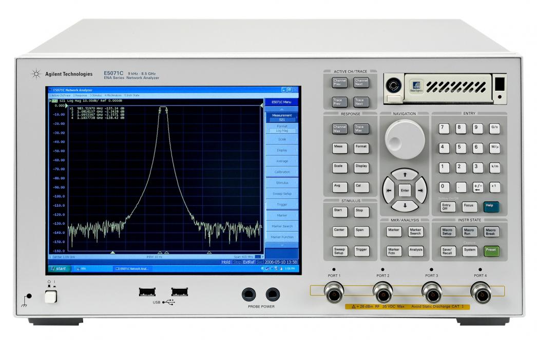 Keysight Network Analyzer : Axiom test equipment now renting keysight agilent e c