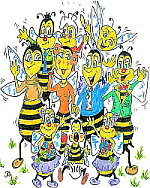 BeeFamilyFrizTheBeeJohnBarnett