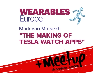 ELEKS spoke at Wearables Europe 2015 and Wearables London Meetup