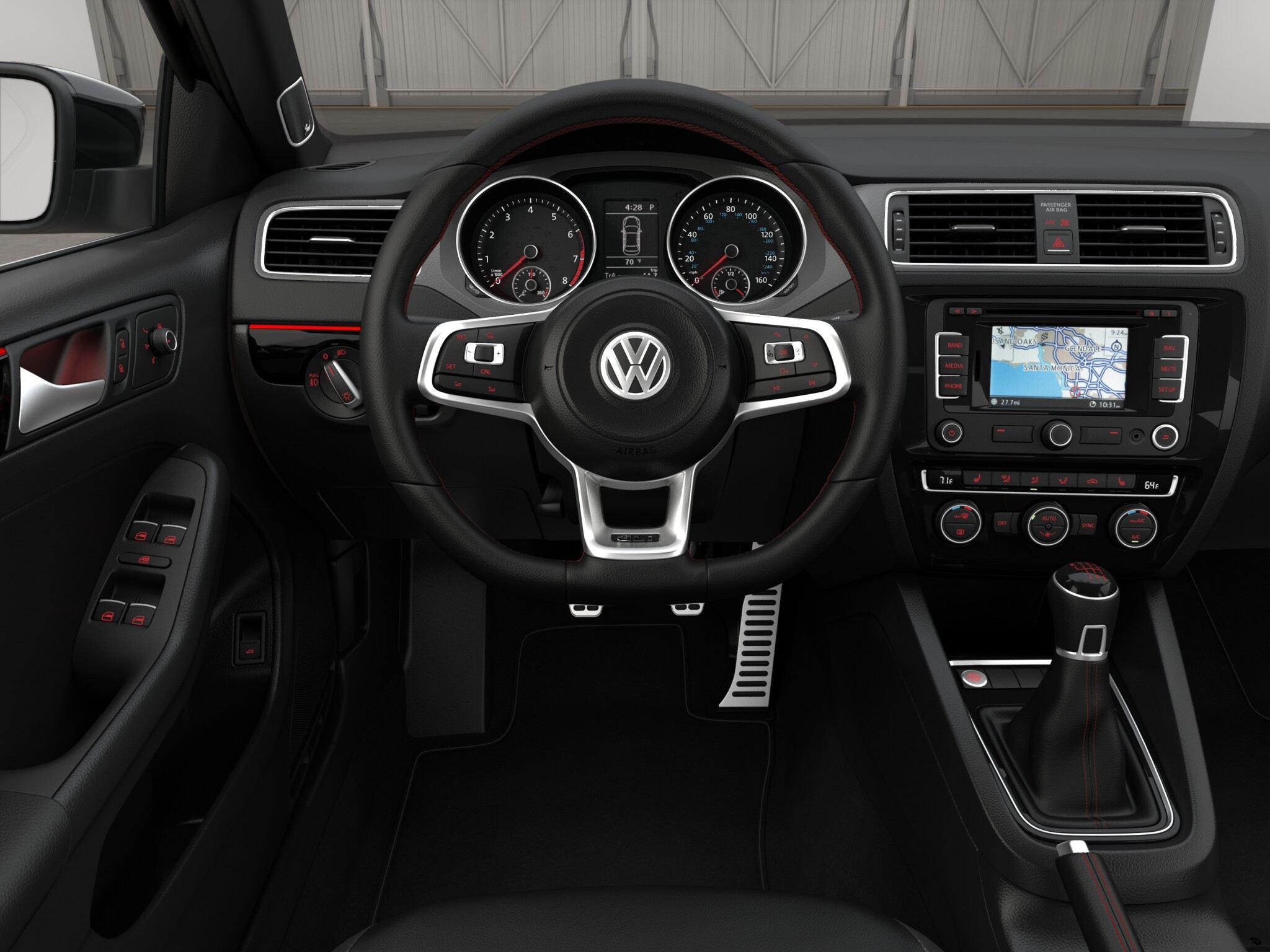 2015 Volkswagen Jetta Gli Interior Car Interior Design