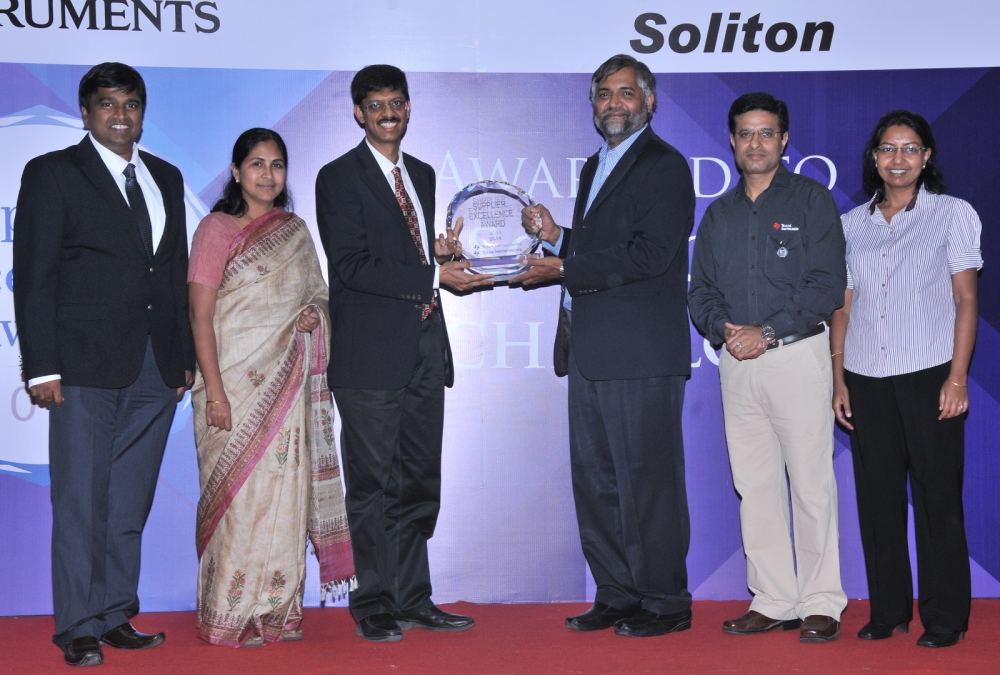 Soliton Technologies received TI Award