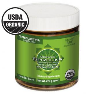 Organic Spirulina Powder - Triquetra Health