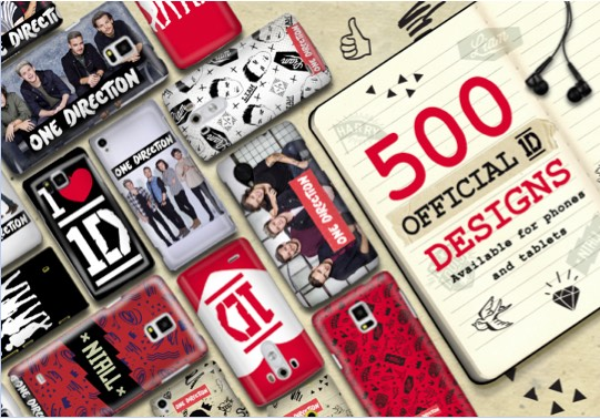 First Look at Ecell's New One Direction Phone Case Collection