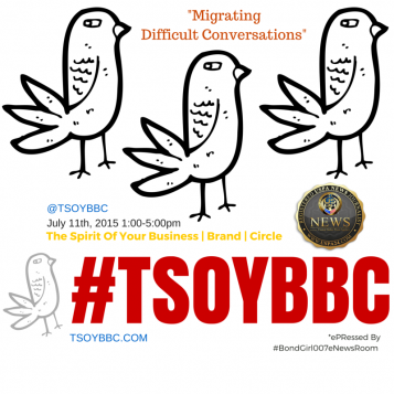 "#TSOYBBC: ""Migrating DIFFICULT Conversations"" on July 11th 2015 Event Experience"