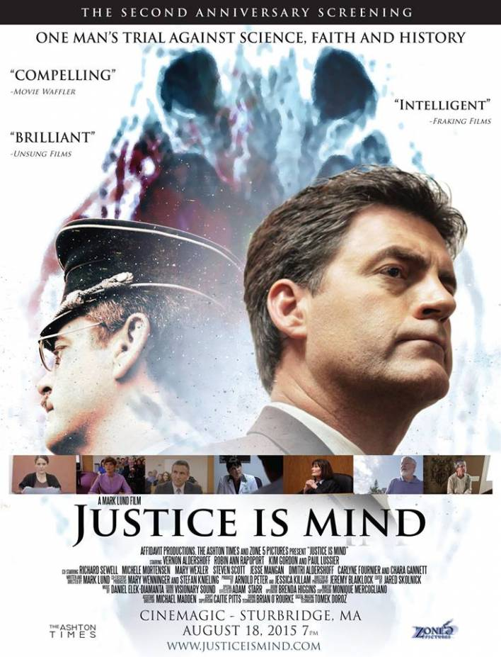 Justice Is Mind-2nd Anniversary Screening-August 18, 2015